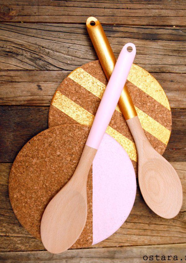 Lekker og billig DIY: håndmalte kjøkkenrekvisitter