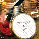 Gavetips: Manikyr i en krukke