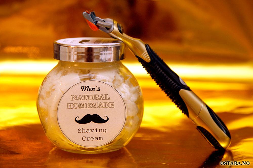 DIY: Shaving Cream til menn