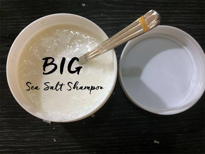 diy lush big shampoo