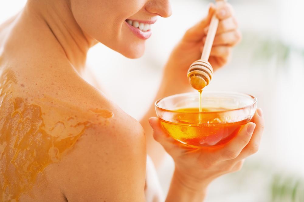 Honning som ansiktsrens