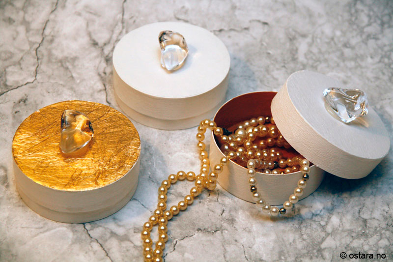 DIY: Dekorative smykkebokser