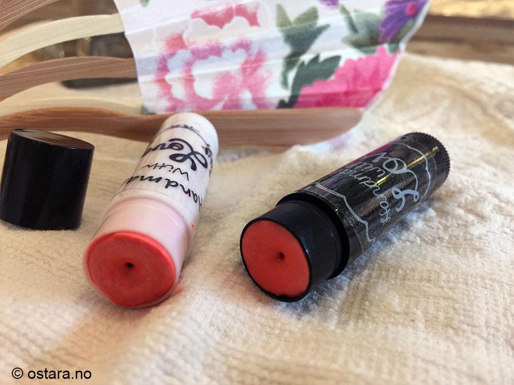 hjemmelaget leppestift