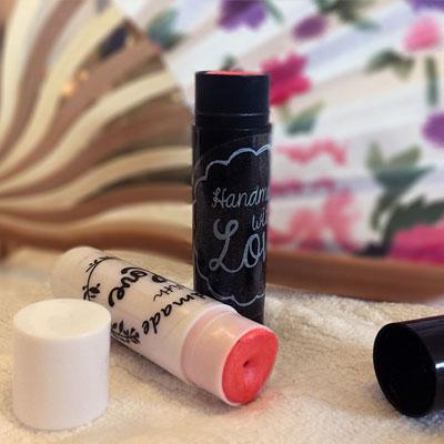 Hjemmelaget leppestift med 3 ingredienser + farge
