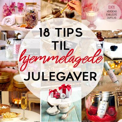 18 tips til enkle hjemmelagede julegaver i siste liten
